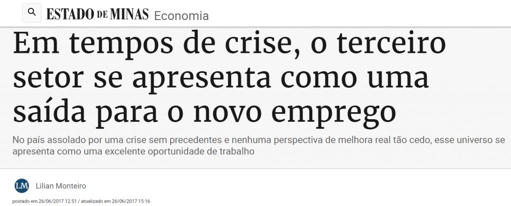 Estado De Minas - gestao terceiro setor